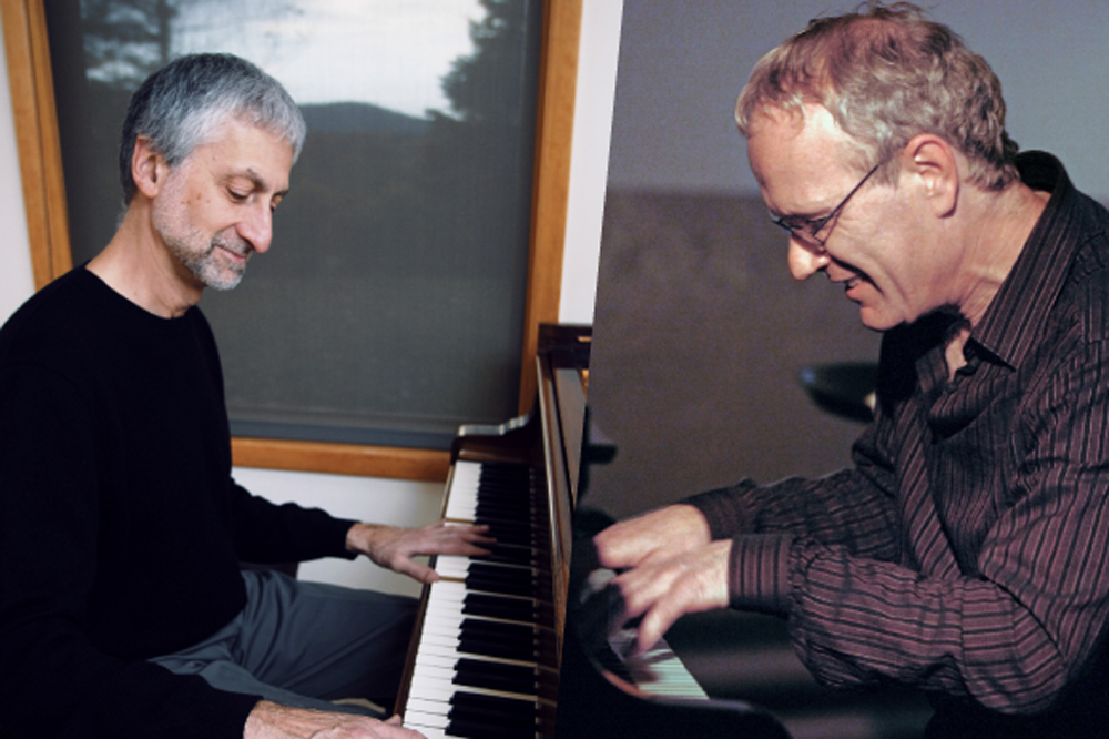 Left: Armen Donelian, Right: Adrian Frey